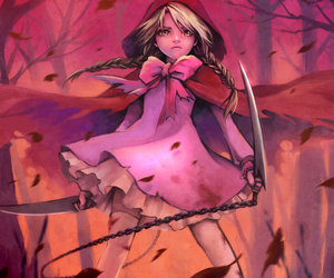 cool, fanart, and little red riding hood image