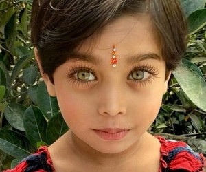 eyes, kids, and beautiful image