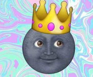 moon and emoji image