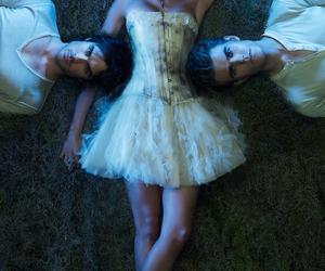 damon, Nina Dobrev, and the vampire diaries image
