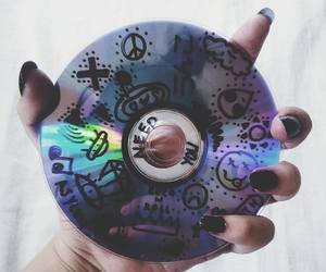 grunge and cd image