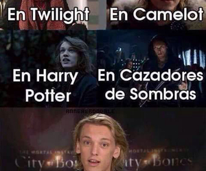 camelot, harry potter, and twilight image
