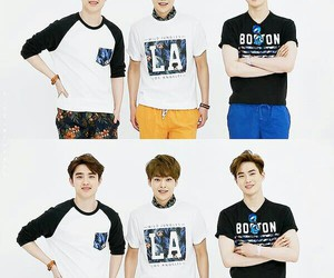 exo, summer, and suho image