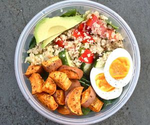 food, healthy, and fit image