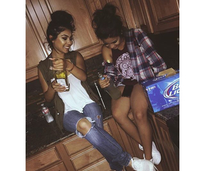outfits, turn up, and best friend goals image