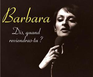 barbara, singer, and french song image
