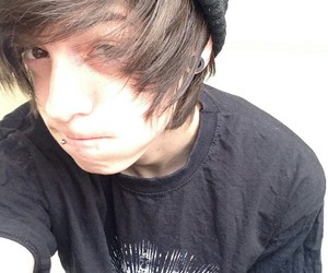 boy, emo, and Piercings image