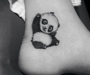 panda, tattoo, and tattoo ideas image