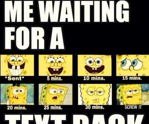 text, funny, and spongebob image