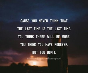 forever, quote, and deep image