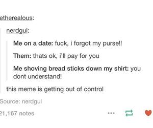 funny, me, and tumblr post image