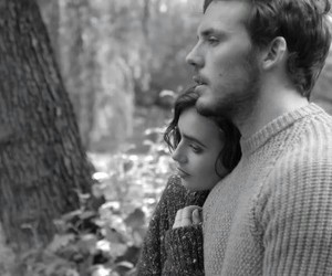 love rosie, sam claflin, and black and white image