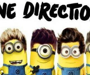 minions, wallpaper, and one direction image