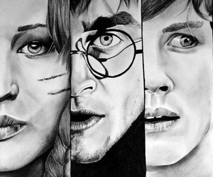 harry potter, percy jackson, and katniss everdeen image
