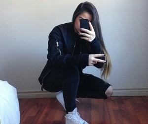black, style, and fashion image