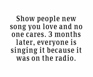 quote, radio, and song image