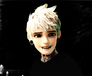jack frost, punk, and disney image