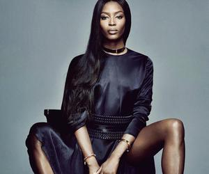 Naomi Campbell, beauty, and fashion image