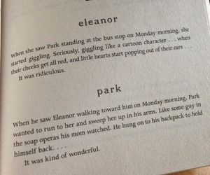 &, eleanor and park, and eleanor image