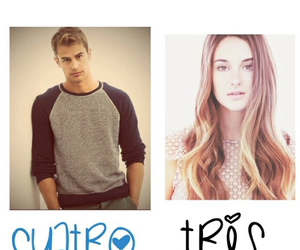 four, theo, and divergent image