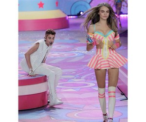 justin bieber, cara delevingne, and model image