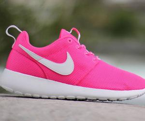 pink and nike image