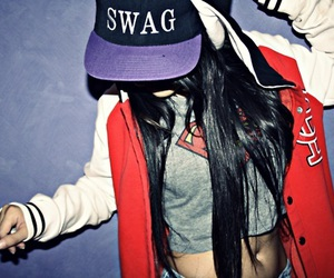 swag and girl image
