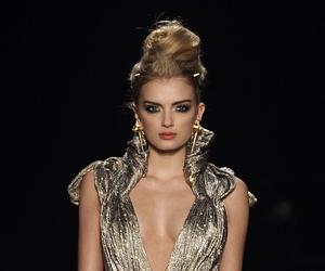 fashion, Lily Donaldson, and Zac Posen image