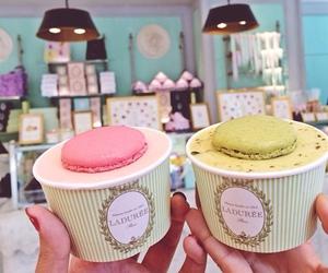 food, sweet, and ice cream image
