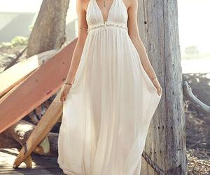dress, Behati Prinsloo, and summer image
