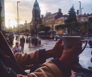 coffee, city, and london image