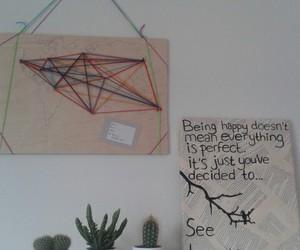 cactus, decor, and diy image