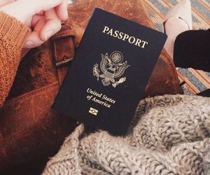 passport and travel image