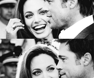 Angelina Jolie, couple, and husband image