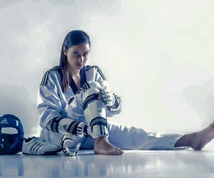 kick, taekwondo, and tkd image