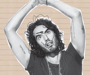 freak, russell brand, and weirdo image