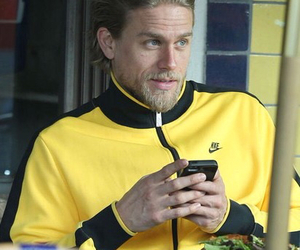 Charlie Hunnam, son, and sons of anarchy image