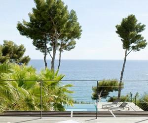 beautiful, paysage, and plage image