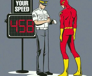 flash, speed, and funny image