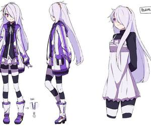 anime, girl, and elsword image
