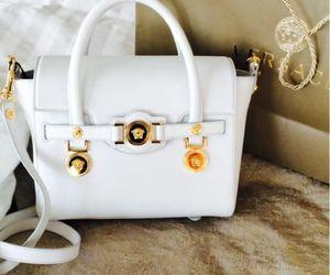 bag, Versace, and white image