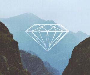 diamond, mountains, and nature image