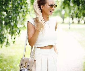 blonde, fashion, and pretty image