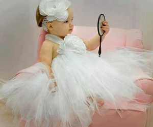 baby, cute, and girl image