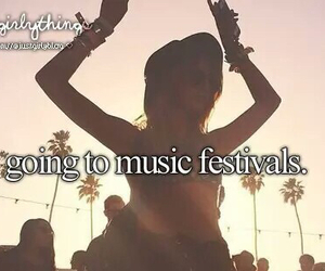Dream, bucket list, and music festivals image