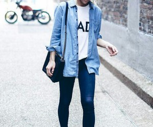 blogger, happily grey, and street style image