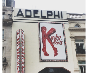 london, theatre, and kinky boots image