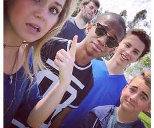 brec bassinger, coy stewart, and buddy handleson image