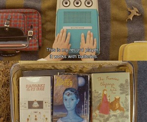 moonrise kingdom, book, and movie image