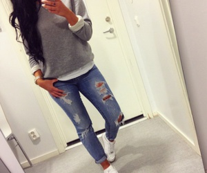 <3, outfit, and style image